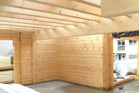 Holzbau innen  Holz in Art: Blockhäuser, Fertighäuser, ökologisches Bauen ...
